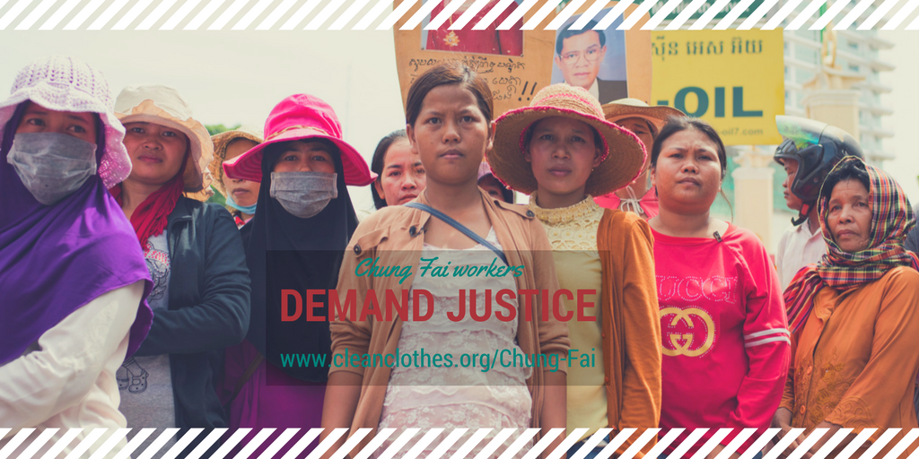 Take action: support 208 Cambodian workers fighting for justice