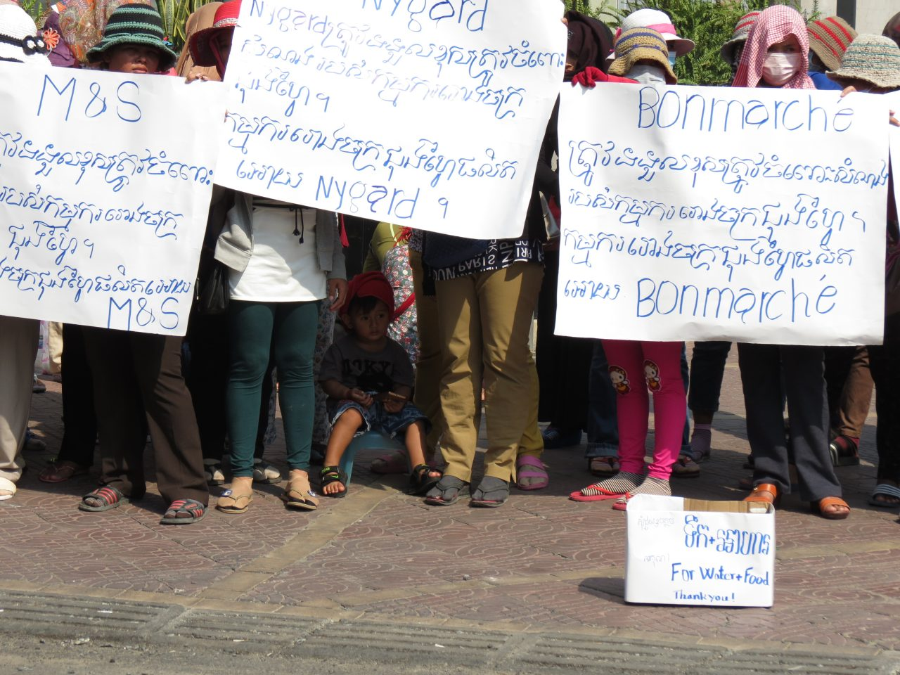 M&S, Bonmarché and Nygård should compensate Cambodian workers after factory closure