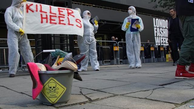Watch: Killer Heels at London Fashion Week