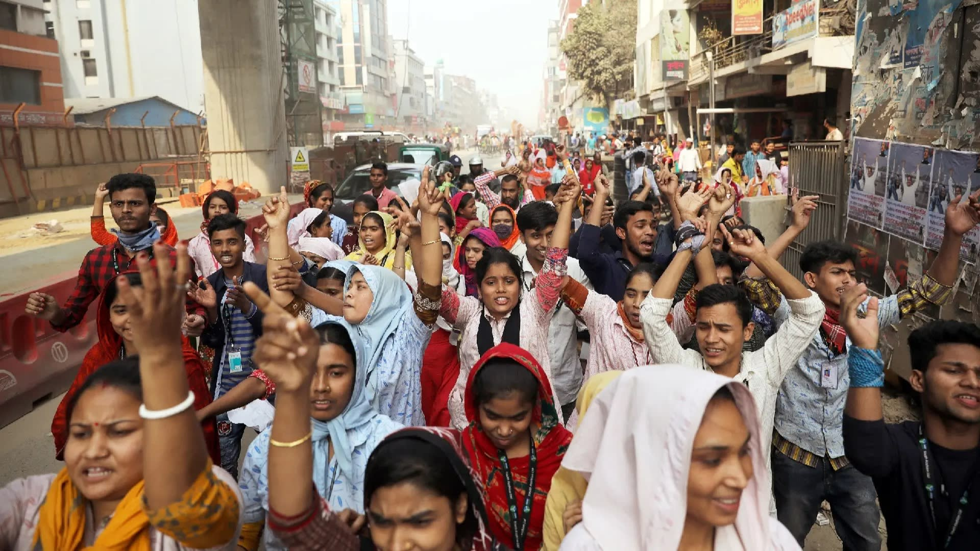 Bangladesh: Violence and repression of worker protests