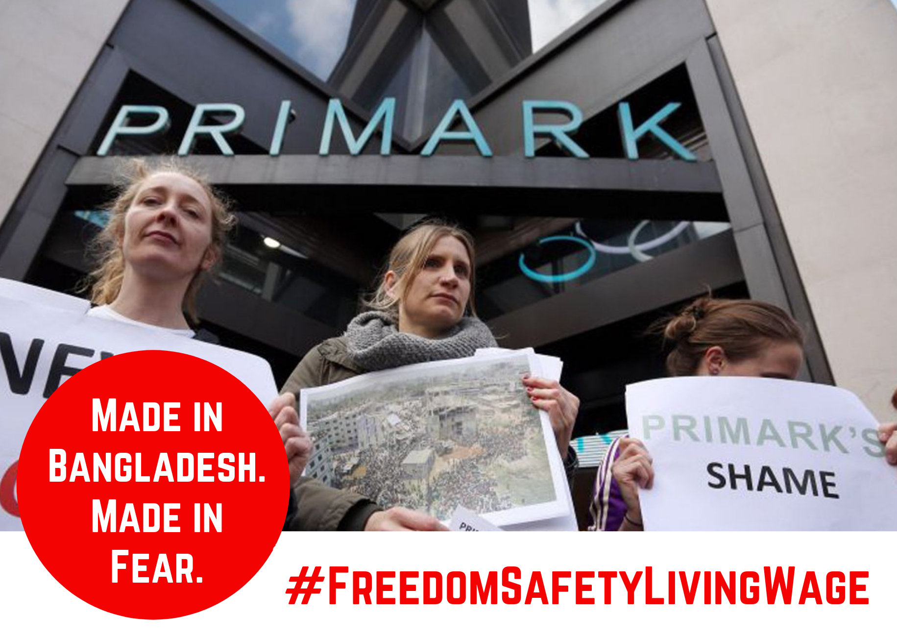 Tell Primark to stop the fear and support worker safety and rights