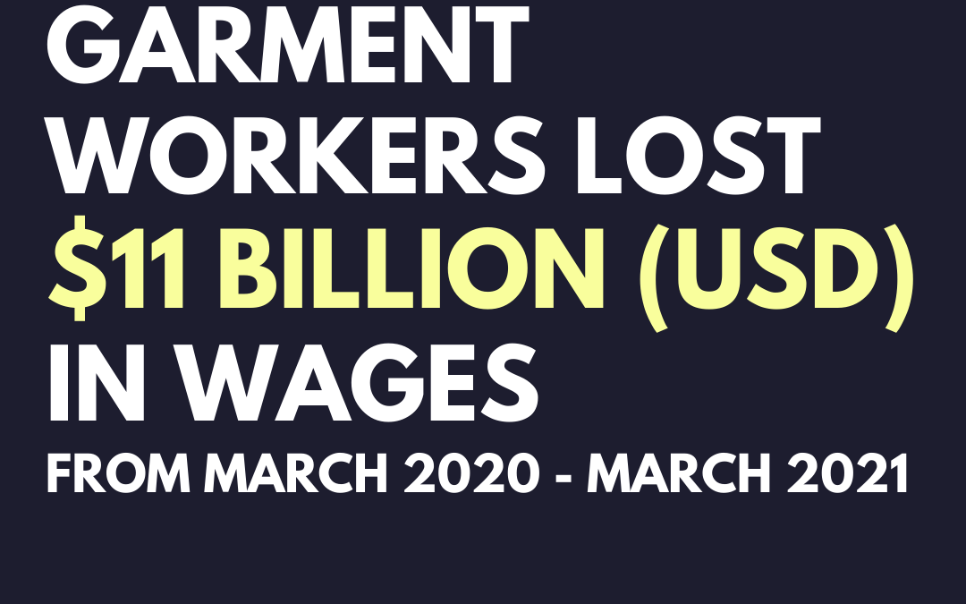 Report: Still Un(der)paid: How the garment industry failed to pay its workers during the pandemic