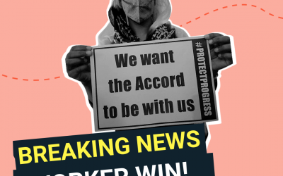WIN: Brands and worker unions agree new binding worker safety agreement
